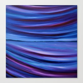 Purple Horizon Canvas Print