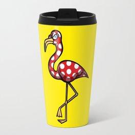 Flamingo Flamenco Travel Mug