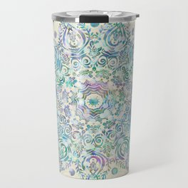 Mermaid Dreams Mandala Travel Mug