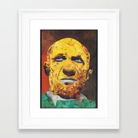 pablo picasso Framed Art Prints featuring Pablo Picasso by Smith Smith