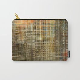 Art abstract colorful geometric intersection background Carry-All Pouch