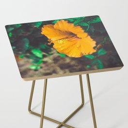 Hawaiian Flowers Side Table