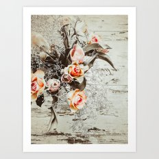 Impact Reclaimed Art Print