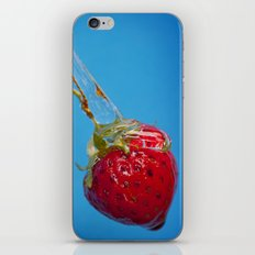 Strawberry and Syrup iPhone & iPod Skin