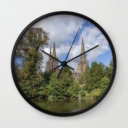 Lichfield spires Wall Clock