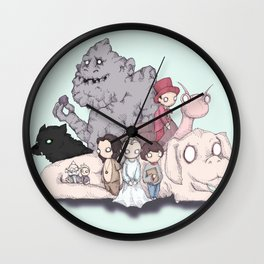 Neverending Plushies Wall Clock