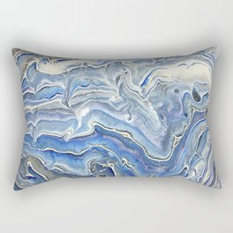 Waterfall Galaxy Rectangular Pillow