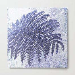Fern Abstract Metal Print