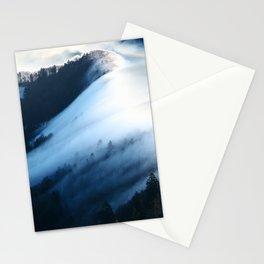 Jura Mountains Switzerland - Sea of Fog Stationery Cards