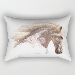 Silverwind - A Pegasus Stallion Study Rectangular Pillow