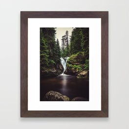 Pure Water - Landscape and Nature Photography Framed Art Print