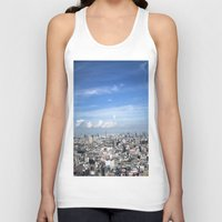 tokyo Tank Tops featuring tokyo by signe constable
