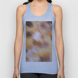 brown orange and black painting texture abstract background Unisex Tank Top