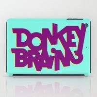 donkey iPad Cases featuring Donkey Brain by Josh LaFayette