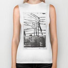 Lines, Black Biker Tank