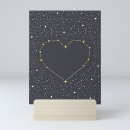 Heart Constellation Mini Art Print