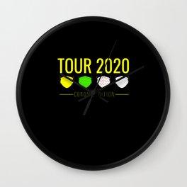 france, france alpe d huez, france green Wall Clock