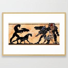 We Stand Together Framed Art Print