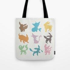 Eeveelution Tote Bag