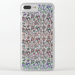 Joshua Tree Summer by CREYES Clear iPhone Case
