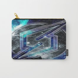 Blue Metroid Logo Carry-All Pouch
