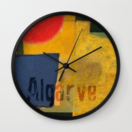 Algarve Wall Clock