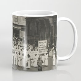 Silent parade in New York City against the East St. Louis riots, 1917 Coffee Mug