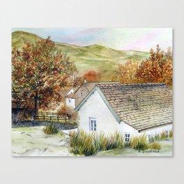 Buttermere Village Canvas Print