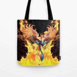 Flames of Life Tote Bag