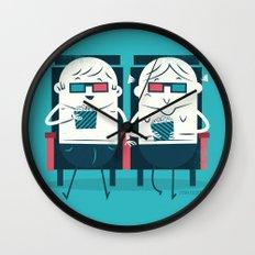 :::Cinema Couple::: Wall Clock