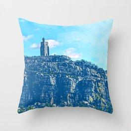 Mohonk Mountain Trail  Throw Pillow