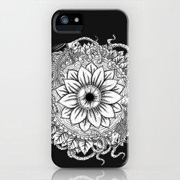 Malignant Bloom iPhone Case