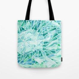 FERNING: Aqua ferns (2015) Tote Bag