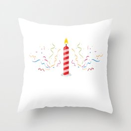 Blow Me It's My Birthday! Throw Pillow