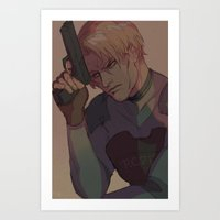 Good Ol RE2 Art Print