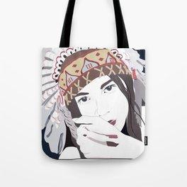 Headdress Tote Bag