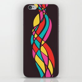 Twisted Color iPhone Skin