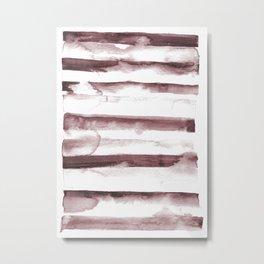 sepia dab Metal Print