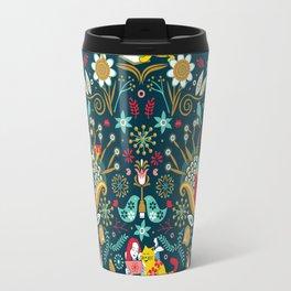 Technological folk art Travel Mug