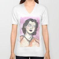 oitnb V-neck T-shirts featuring Morello OITNB by Ashley Rowe