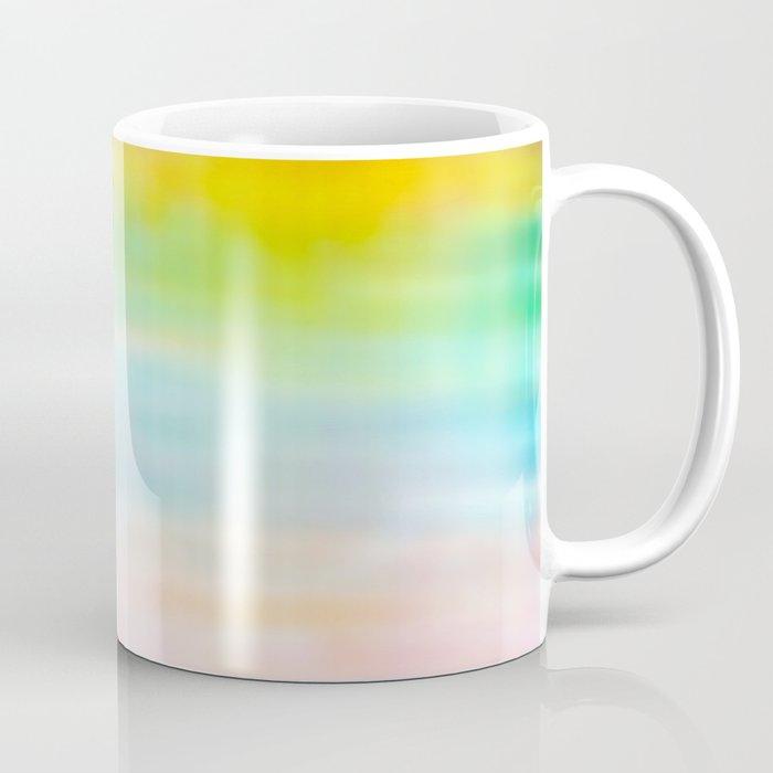 Rainbow Gradient - tie dye loved by unicorns Coffee Mug