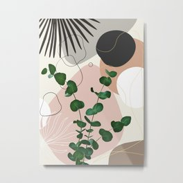 Eucalyptus Fan Palm Finesse #1 #tropical #decor #art #society6 Metal Print