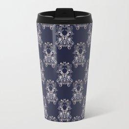 Baroque style floral retro pattern Travel Mug