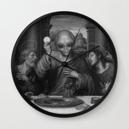 Alien Jesus Wall Clock