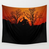 fractal Wall Tapestries featuring Fractal by Beach Bum Pics