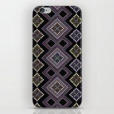 Folk beads circles ethnic pattern iPhone & iPod Skin