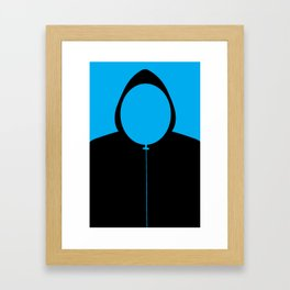 MY HOODIE WEIGHS A TON Framed Art Print