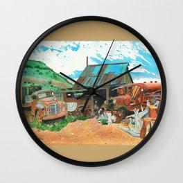Another Man's Treasure Wall Clock