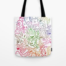 stuff (colorful version) Tote Bag