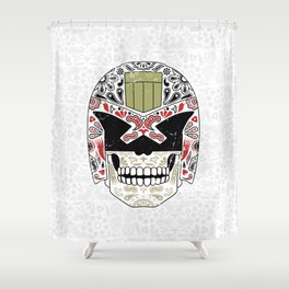 Day of the Dredd - Variant Shower Curtain